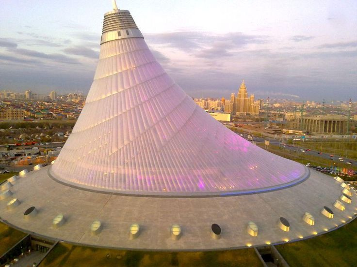Khan Shatyr Entertainment Center, Astana, #Kazakhstan by ...