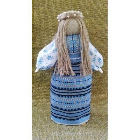 "Folk doll ""Slavutnitsa"". Author Natalia Ledina - http://arthandmade.net/ledina.natalya  Doll, folk, folk doll, amulet, mascot, talisman, textile doll, handmade doll, gift, original gift, handmade, craft, interior, collection, Gallery Magical World, кукла, народная кукла, оберег, амулет, талисман, текстильная кукла, кукла ручной работы, подарок, оригинальный подарок, ручная работа, коллекция, интерьер, Галерея Волшебный мир"