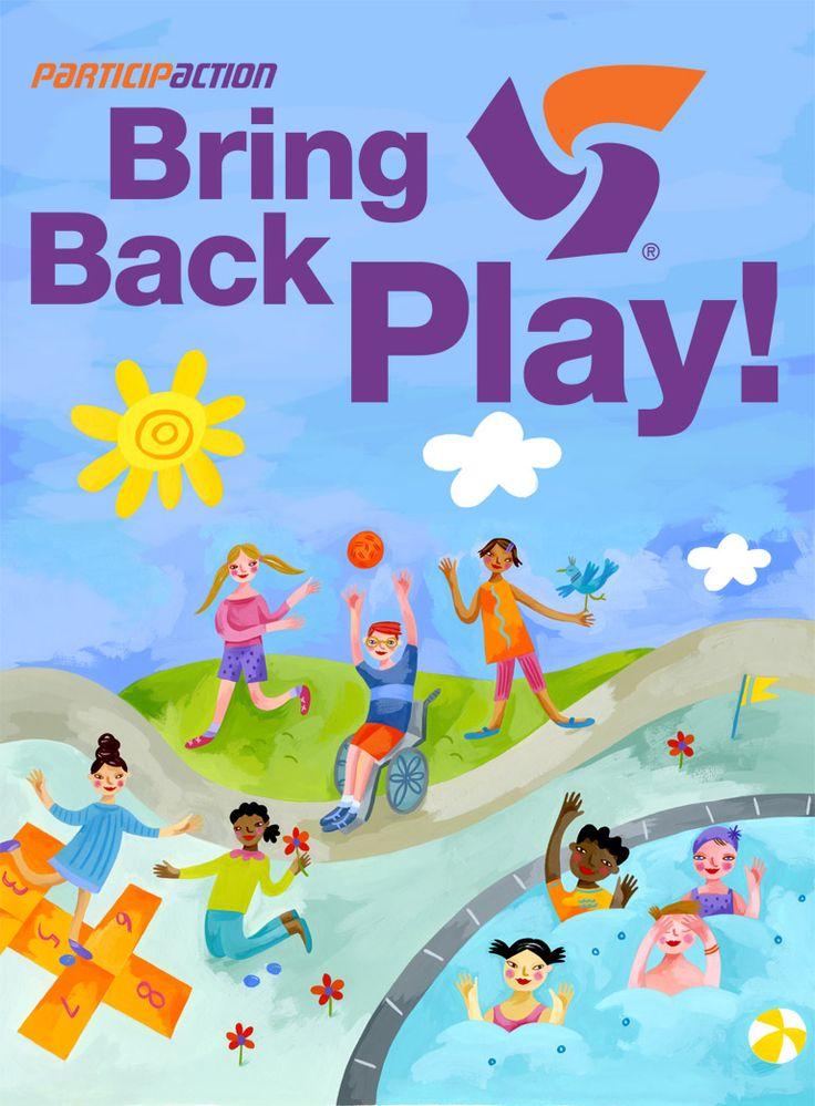 ©Betsy Everitt #illustration for #BringBackPlay @ParticipACTION #kids