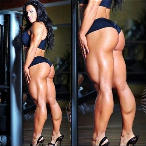Fitness naked female Hot models
