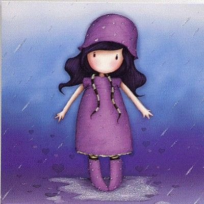 rain   - by gorjuss