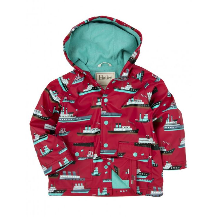 Hatley Impermeabile Nave Folletti Baby - Shop Online