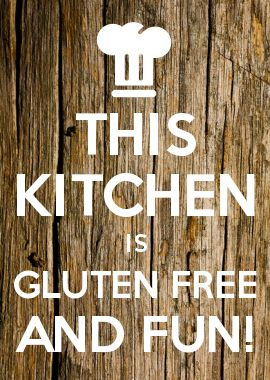 THIS KITCHEN IS GLUTEN FREE AND FUN!