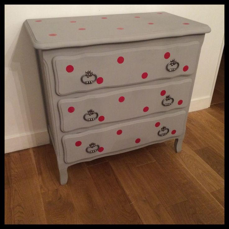 Relooking : commode chambre enfant