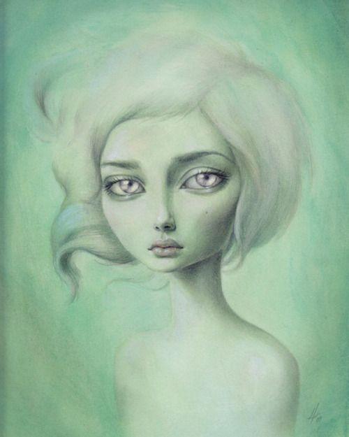 Artist Unknown: Artbeauti Photography, Amazing Art, Drawings Mandy, Artists Unknown, Posts, Artists Inspiration, Big Eye, Artists Mandy Tsung, Inspiration Me