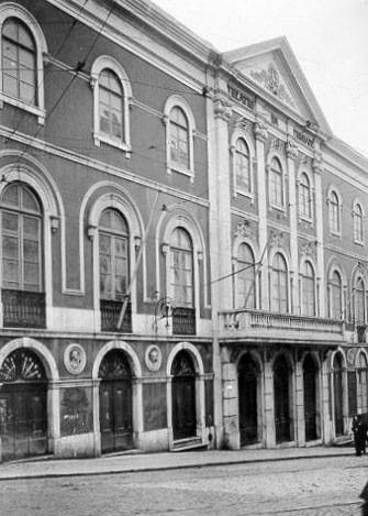Teatro da Trindade, Lisboa, 1911