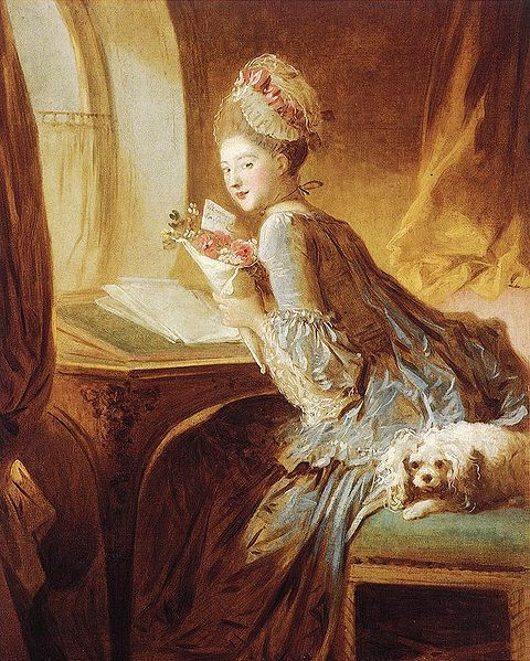 The Love Letter, 1770.