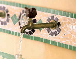 torneiras de pia - passaro enferrujado  - produto semi artesanal by La Calle Florida email:lacalleflorida@uol.com.br