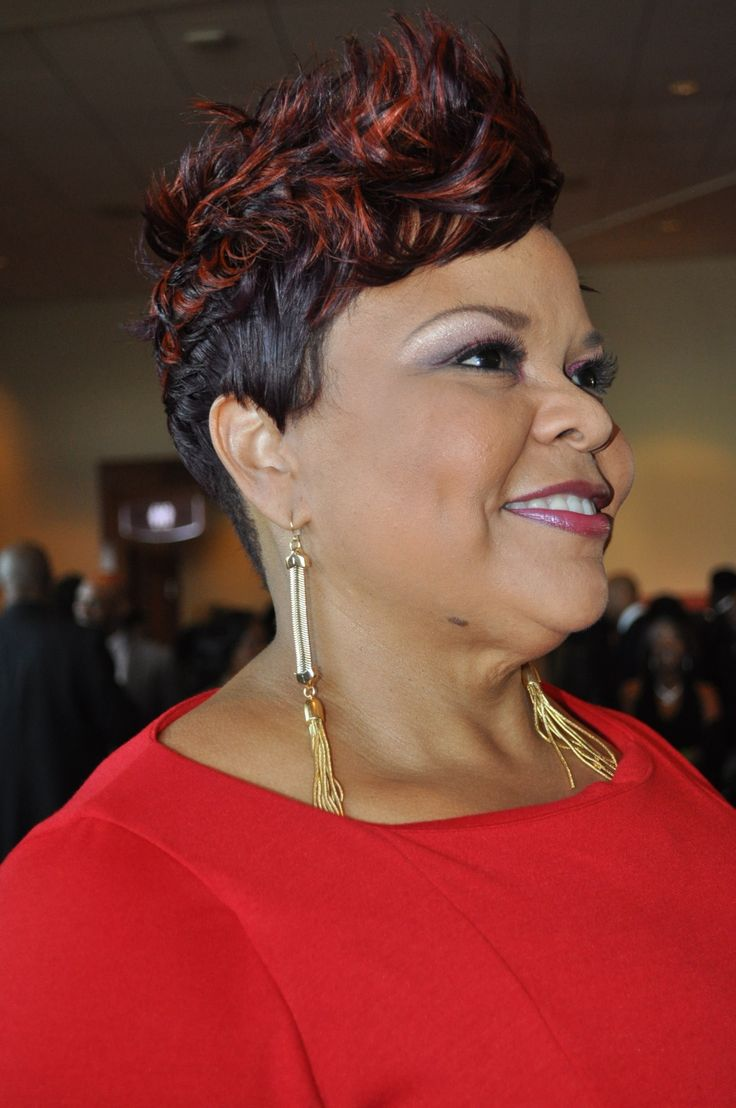 Tamala Mann hair | Photos / Best red carpet hairdos at the 2013 Trumpet Awards