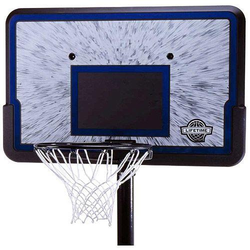 """Lifetime 44"""" Pro Court Adjustable Basketball Hoop $85!"""