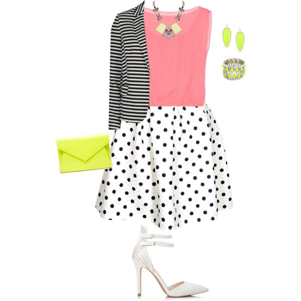 plus size easter/sunday brunch look, created by kristie-payne on Polyvore