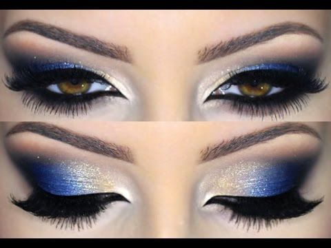 Cobalt Blue MakeUp Tutorial - Melissa Samways
