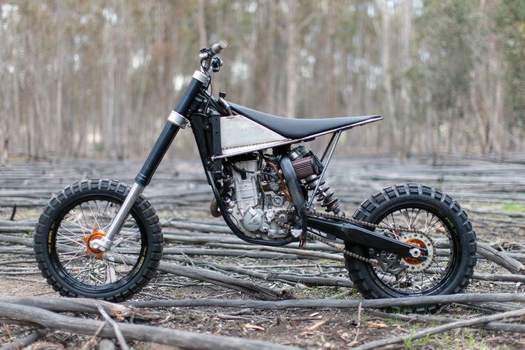 Ktm Sx Woods Bike Conversion
