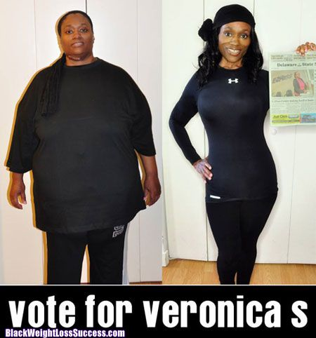 292 lbs Gone: Check out Veronica's weight loss journey.