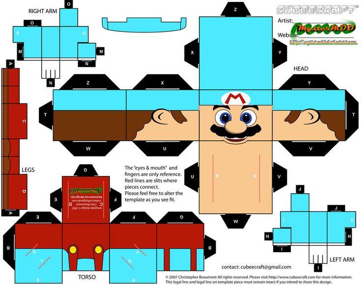 Ice Mario Cubeecraft
