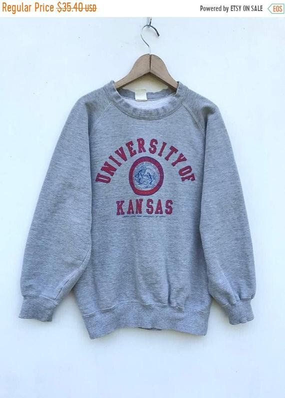 e04bba44a1b4 20% Off Vintage University of Kansas Sweatshirt University