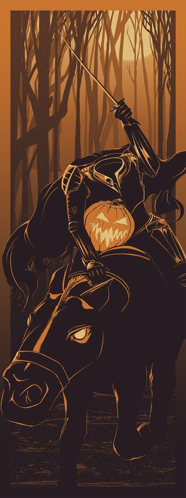 """Headless Horseman"" Art Print by Rob Loukotka"