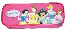 Princess Aurora Belle Jasmine Cloth Pencil Case Pencil Box - Hot Pink
