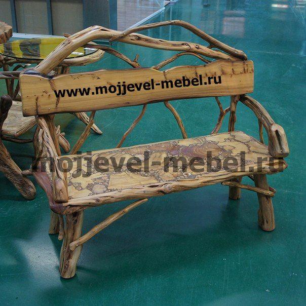 Сказочная мебель и интерьер из можжевельника