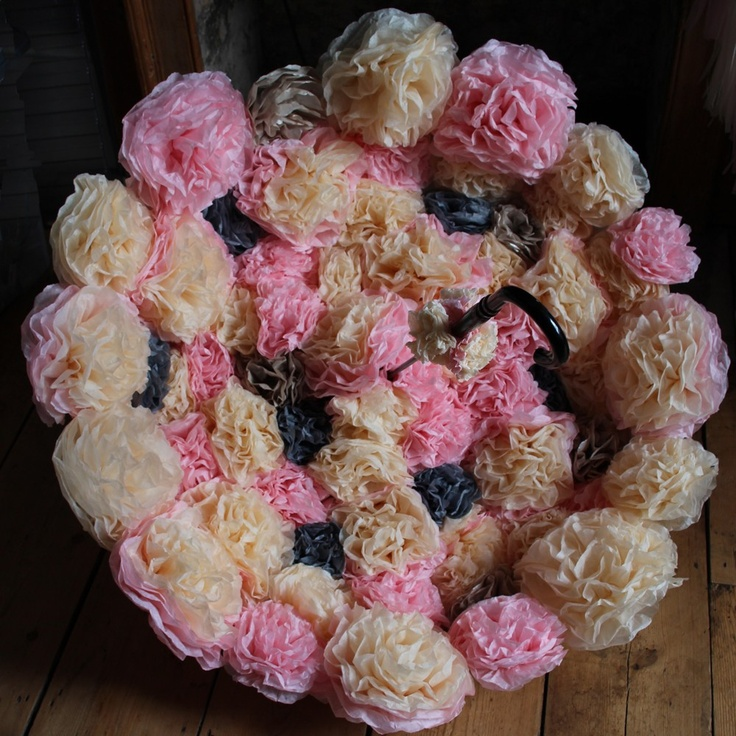 Pearl and Earl - The Paper Flower BLOOM BROLLY, £0.00 (http://www.pearlandearl.co.uk/the-paper-flower-bloom-brolly/)