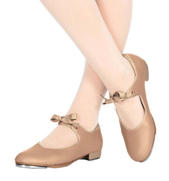 Theatricals Adult Beginner Tap Shoe with Ribbon Tie
