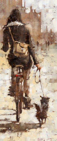 """""""The City Gal"""" by Andre Kohn.  Love this.TG."""