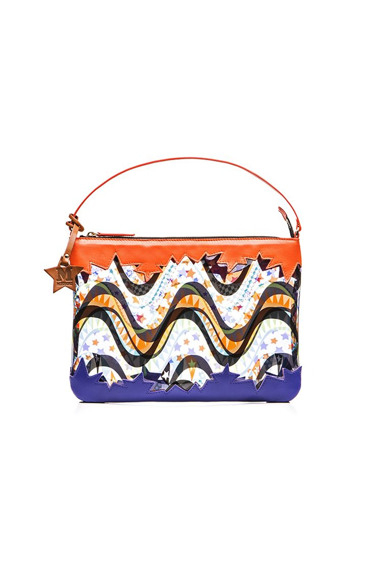 #MMissoni | Orange PVC Bag | #Summer2016