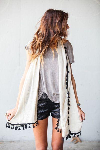 Tassel scarves