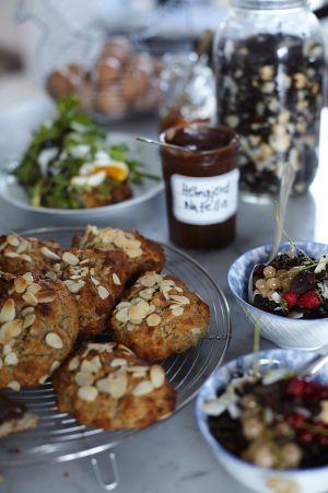 Bananscones / Leilas Supermat ~ Recept   Leila Lindholm (leila.se)