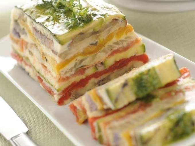 Ricetta Antipasto : Terrina di verdure grigliate da Red_alessia_red