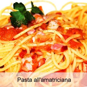 Ricetta pasta all'amatriciana