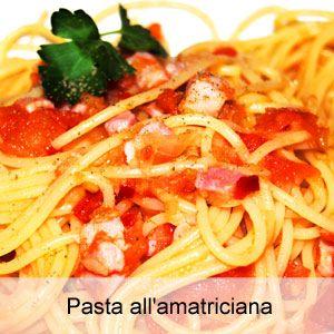 Ricetta pasta all'amatriciana