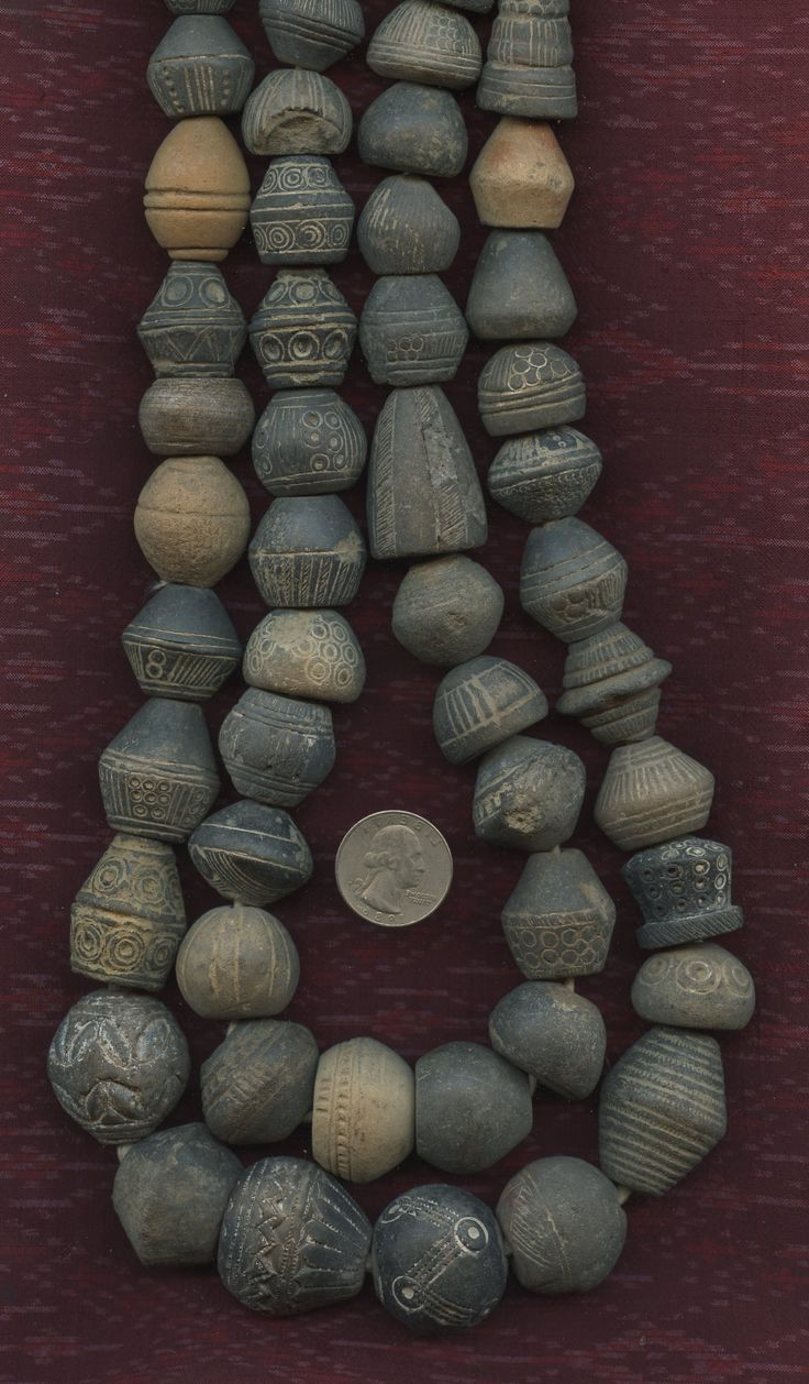 Antique Spindle Whorls from Mali. Lost Cities Beads