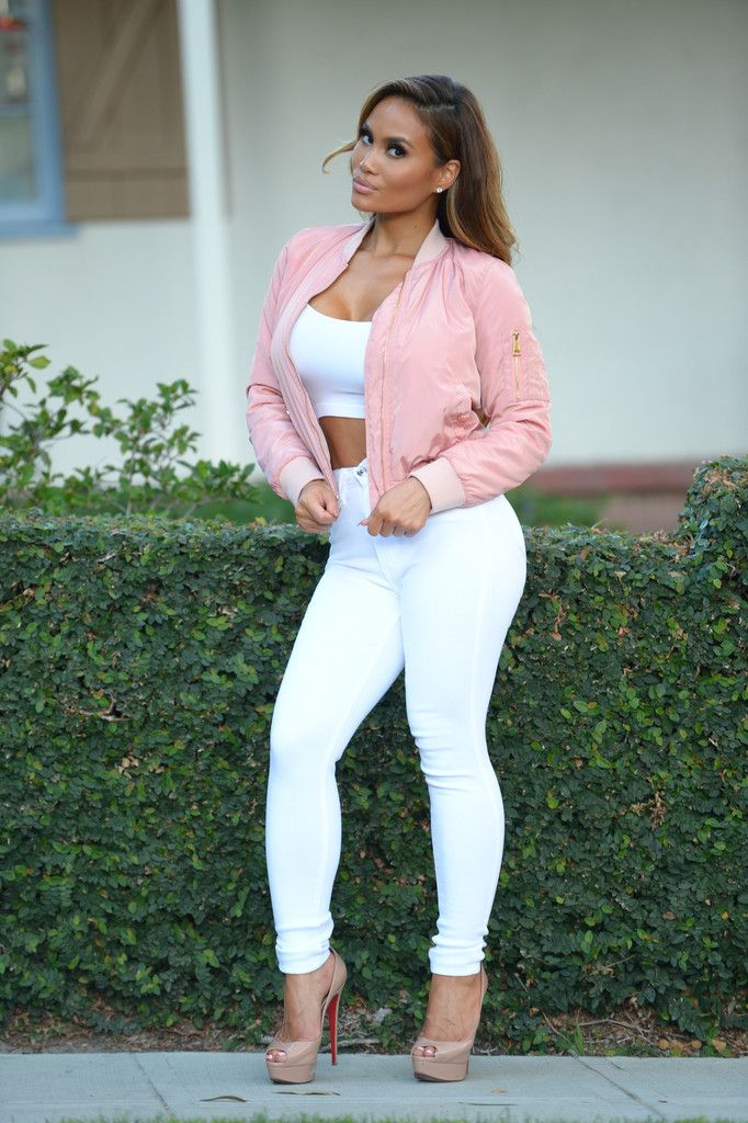 17 Best ideas about Light Pink Bomber Jacket on Pinterest ...