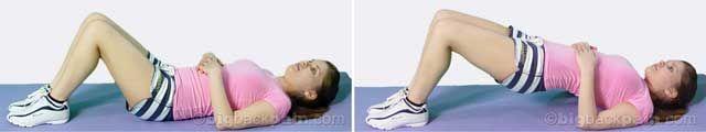 basic bridge...exercises for back pain