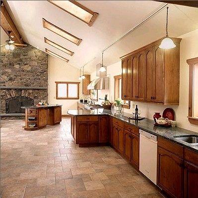 kitchen: Tile Design, Floors Patterns, Kitchens Floors Tile, Open Spaces, Tile Patterns, Kitchens Tile, Porcelain Tile, Tile Floors Design, Porcelain Floors