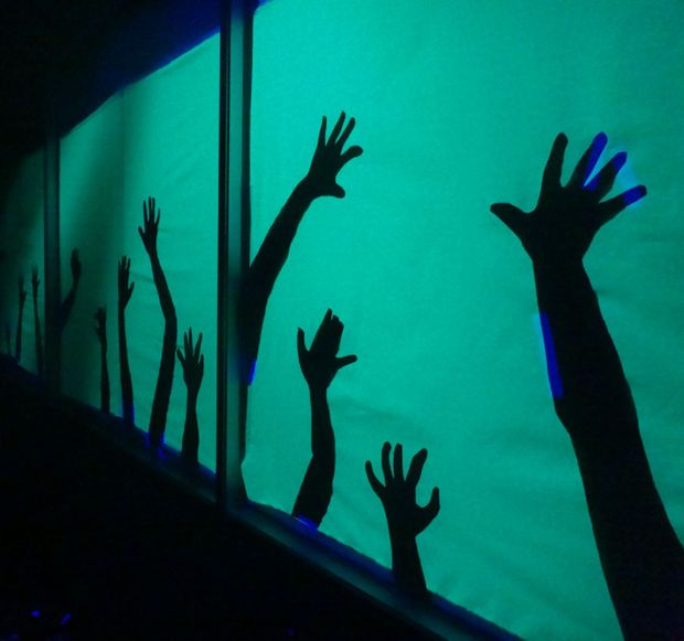 Picture of Undead Hand Silhouettes - Haunted House