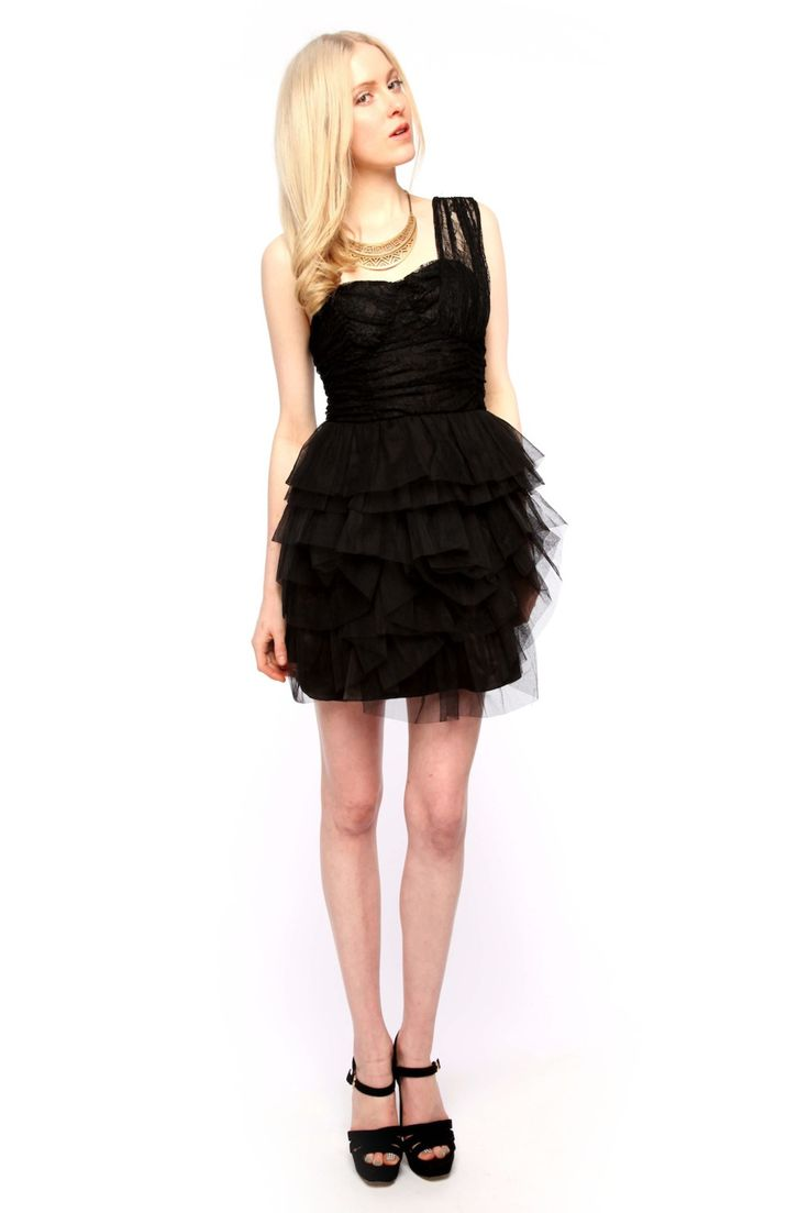 Shoptiques — Tulle and Lace Cocktail Dress
