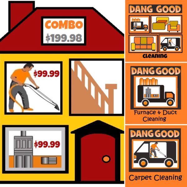 ❆❆❆$199.98 Combo Carpet & Furnace Clean~Dang Good DEAL | cleaners, cleaning | Calgary | Kijiji