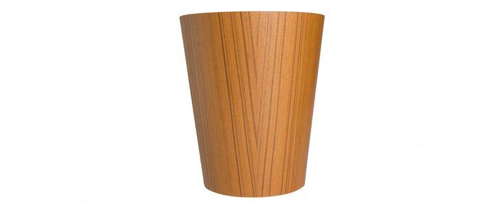 Japanese Pressed Wood Waste Bin - Kaufmann Mercantile