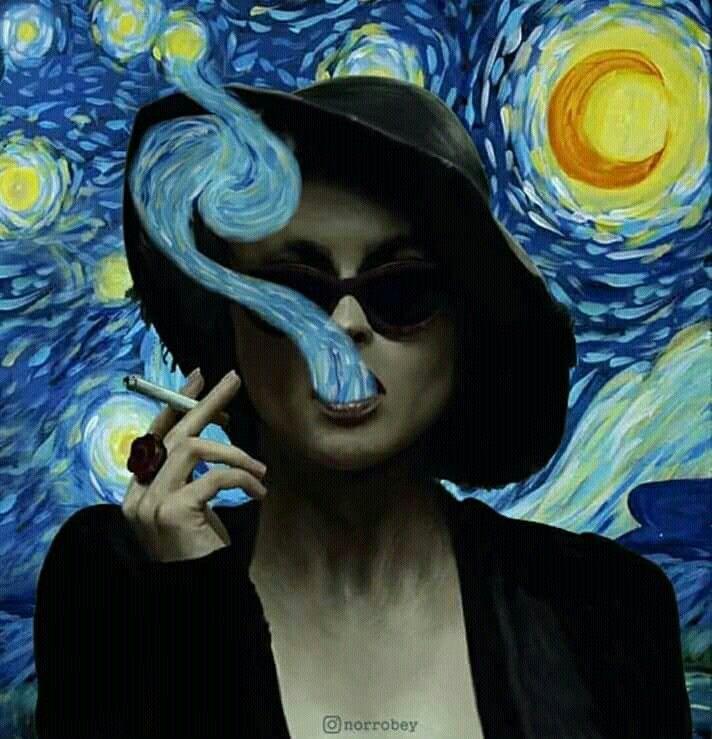 Van × Carter   Helena × Gogh – #ArteGráfico #Arteminimalista #Artepsicodelico…
