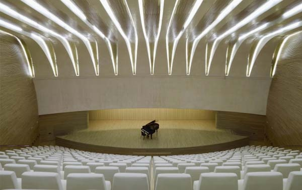 Chamber Music Concerts in the Smaller Auditorium; Architecture Valencia Opera House