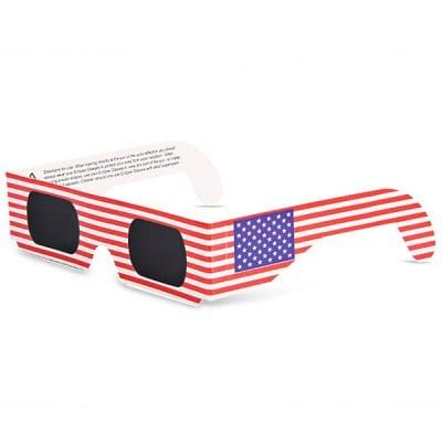 Flag Style Protective Sun Solar Eclipse Viewing Glasses Eyewear $1.84