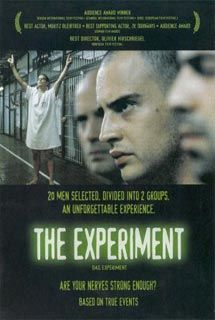 "#TheExperiment - The movie is based on the infamous ""Stanford Prison Experiment"" conducted in 1971. #psychothriller #movie #poster"