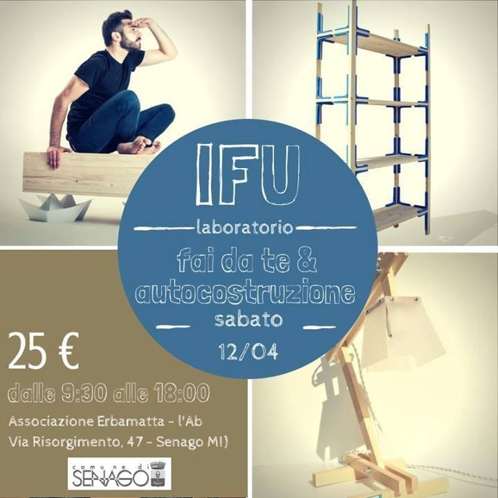Corso / Laboratorio di Fai Da Te con Ifu, instruction for use.   DIY  Handmade