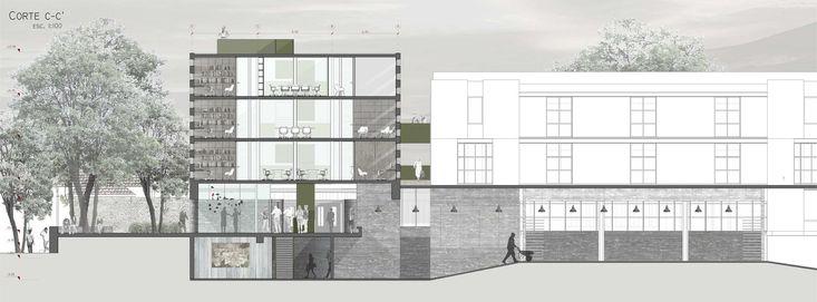 Galería - Ganadores Concurso Edificio Docente y de Investigación Escuela de Arquitectura UC - 17