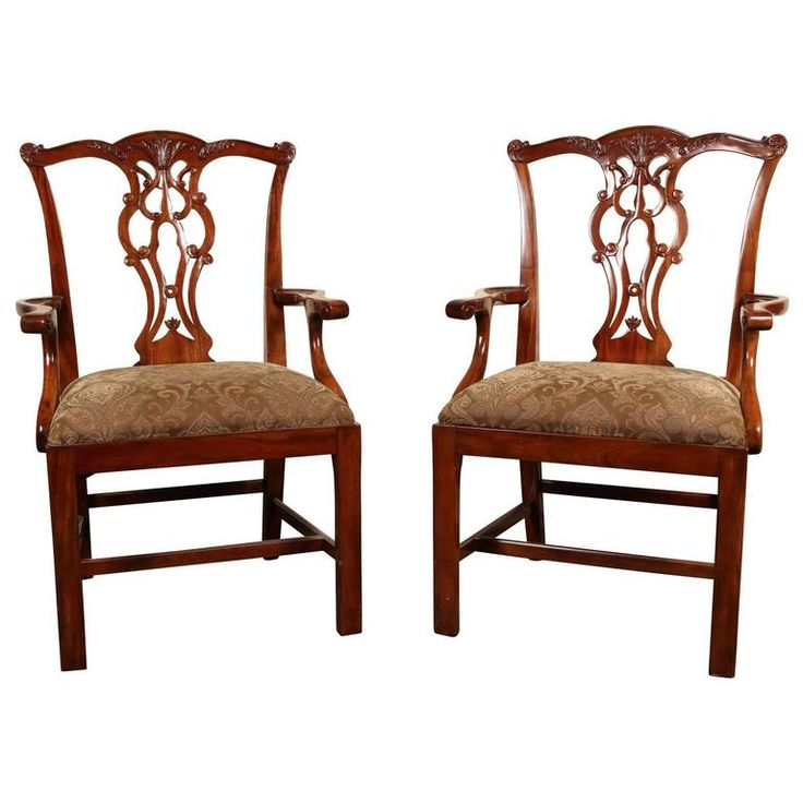 chippendale stílusú székek, antik bútorok