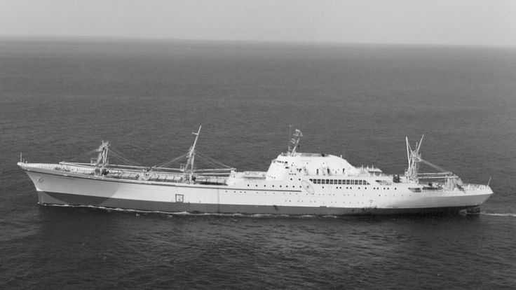 the United States' first, and only, nuclear-powered merchant ship, NS Savannah