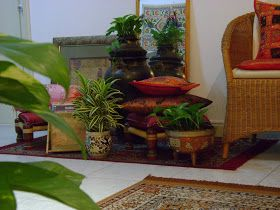 Ethnic Indian Decor: An Ethnic Indian Home in Singapore