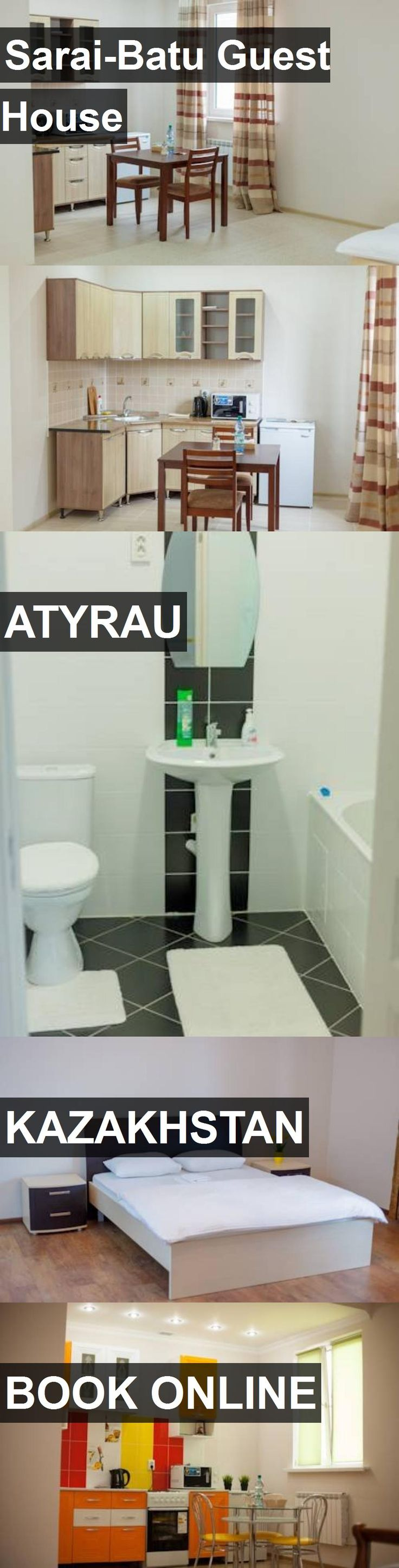 Sarai-Batu Guest House in Atyrau, Kazakhstan. For more information, photos, reviews and best prices please follow the link. #Kazakhstan #Atyrau #travel #vacation #guesthouse